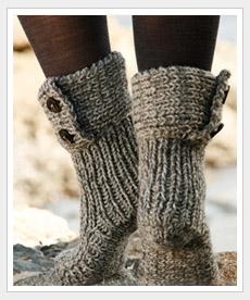 sokken breien moon socks breipatroon